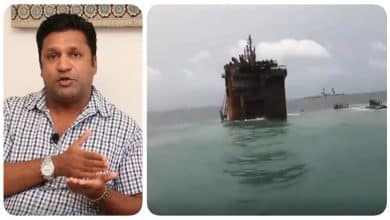 It is not clear what the oil is but there is a toxic chemical near the ship - Marine Biologist Ranil Nanayakkara