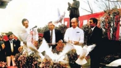 A ceremony in Japan to commemorate JR's mission to express gratitude.