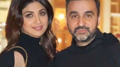 A note she left about Shilpa Shetty's husband who made pornographic films.
