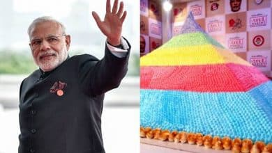 A world record from India for Modi's birthday