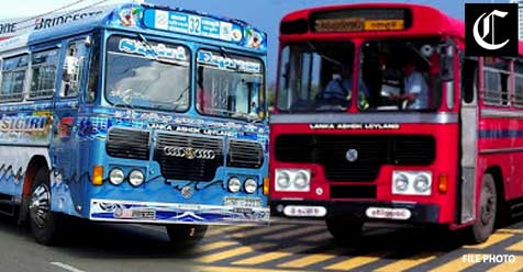 A decision to increase the number of bus services in the provinces