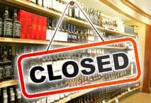 Liquor stores will be closed for two days this month