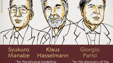Nobel Prizes for three physicists