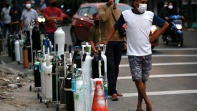 Oxygen shortage in Indonesia