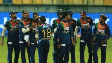 Sri Lanka won the first match of T20 by 7 wickets