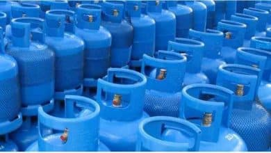 The price of a new 18 liter gas cylinder is reduced