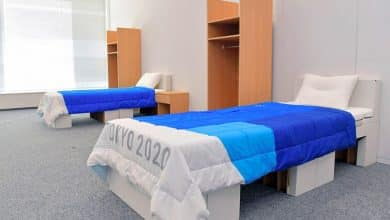 Tokyo Olympics comfy and cardboard beds