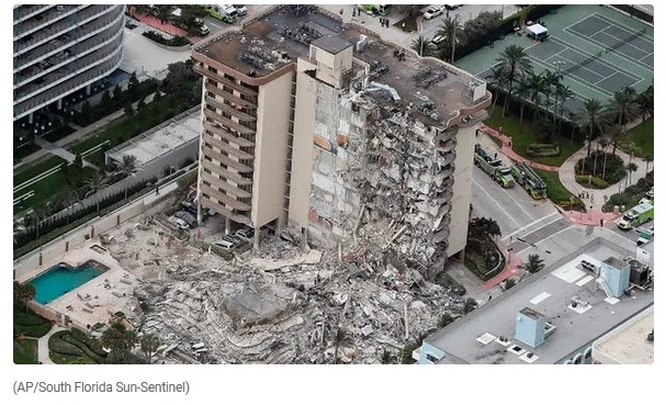 More than 100 missing after 12-storey building collapses in US