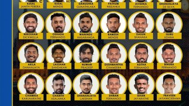 The Sri Lanka Cricket squad for the tour of England has been named